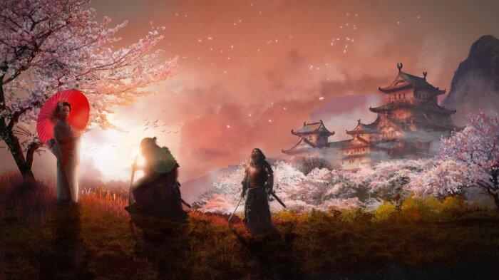 Цветение горной сливы в Древней Японии. / Фото: kartinkin.com