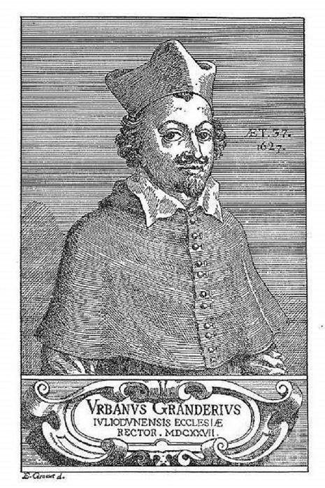 Прижизненный портрет Урбена Грандье / Источник: wikipedia.org