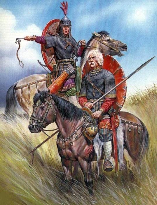 Русичи на службе у монголов / Фото: pinterest.com