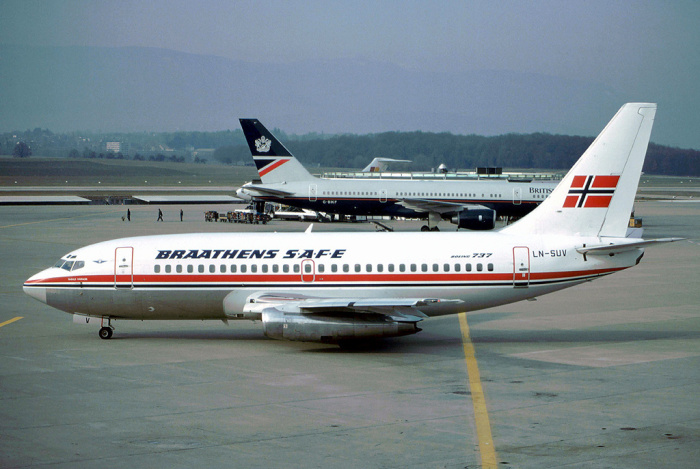 Boeing-737-205 авиакомпании Braathens SAFE / Источник: factroom.ru