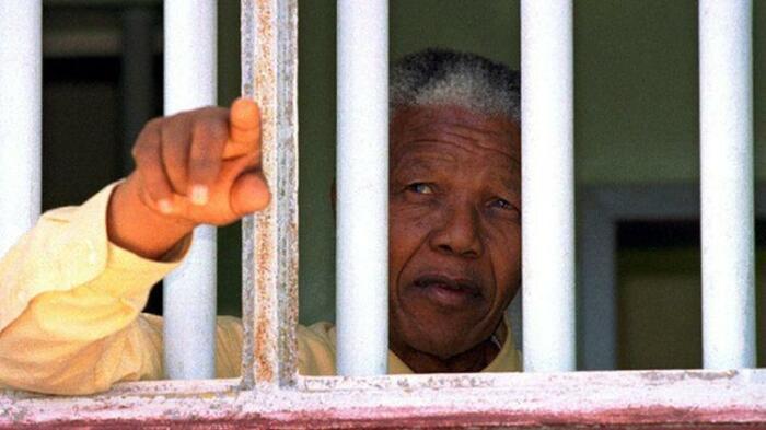 Нельсон Мандела в 1980 году еще сидел в тюрьме. / Фото:francais.rt.com