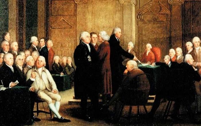 Принятие британским парламентом «Невыносимых законов» / Фото: Ya-webdesign.com