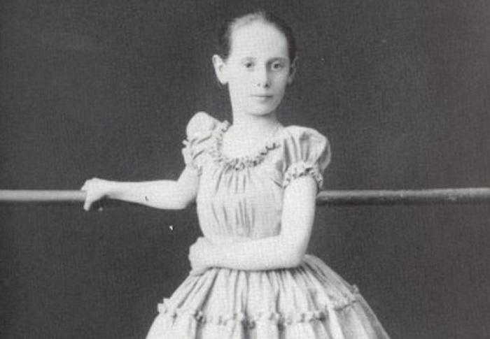 Анна Павлова в детстве / Фото: 24smi.org