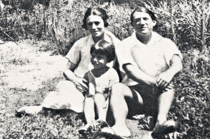 Пабло, Ольга и их сын Поль / Фото: rg.ru