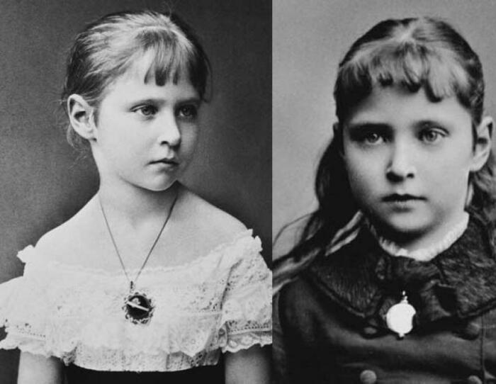 Алиса Дармштадтская в детстве. / Фото: admbabynino.ru