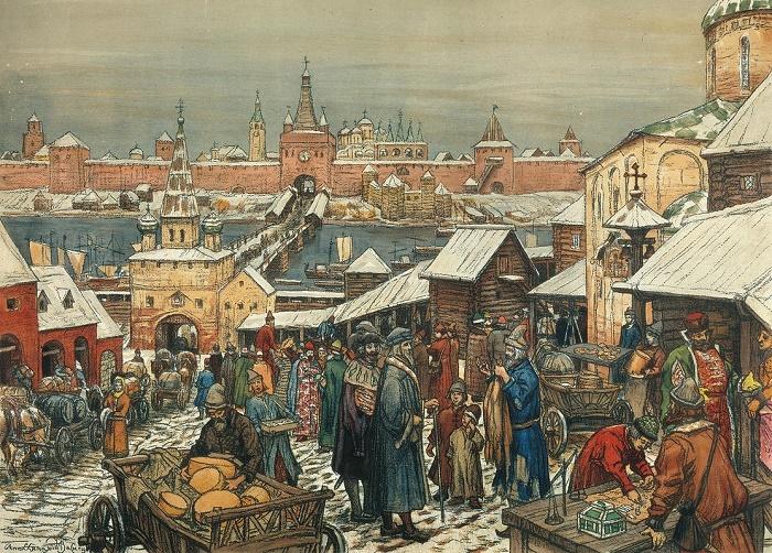 Новгородское княжество. Конец XIV века. / Фото: wikipedia.org
