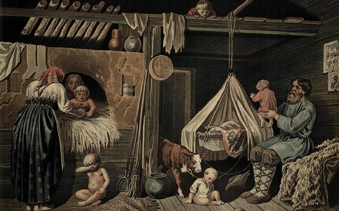 Некоторые родовые ритуалы на Руси были весьма необычными / Фото: expresstorussia.com