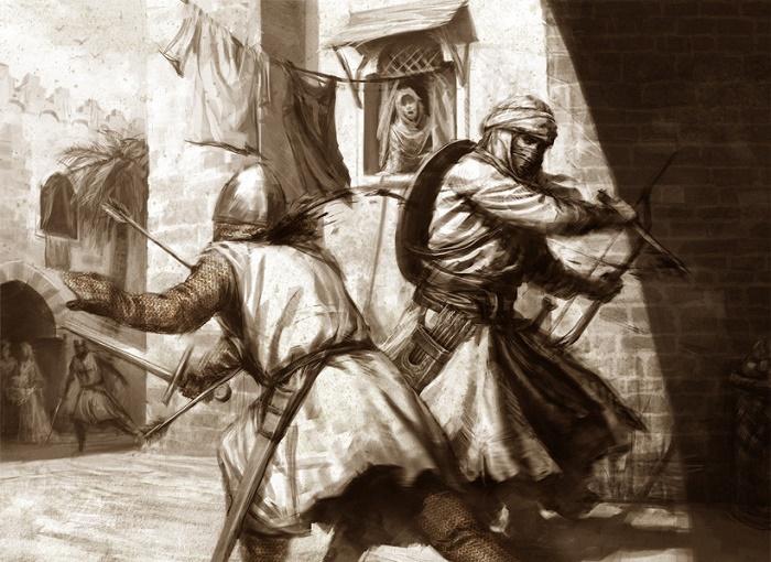 Ассасины были хладнокровными и бесстрашными наемными убийцами. / Фото: wraithdt-artcentral.com