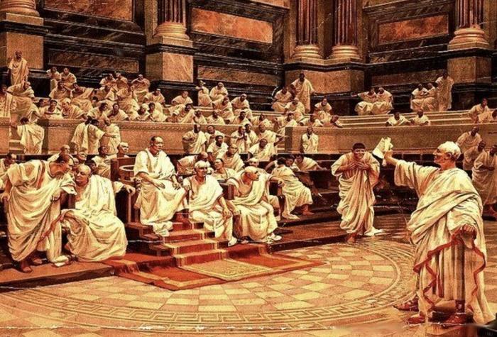 Дебаты в римском Сенате / Фото: quotesgram.com