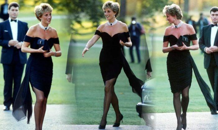 Диана знала, что в таком наряде на нее будут глазеть все / Фото: ziva-club.ru