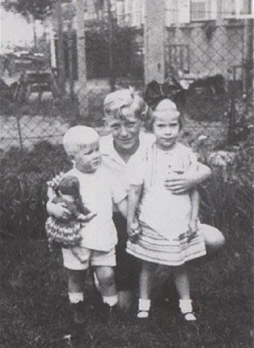 Бернхард Траутманн, член организации Юнгфольк, 1933 год. / Фото: spartacus-educational.com