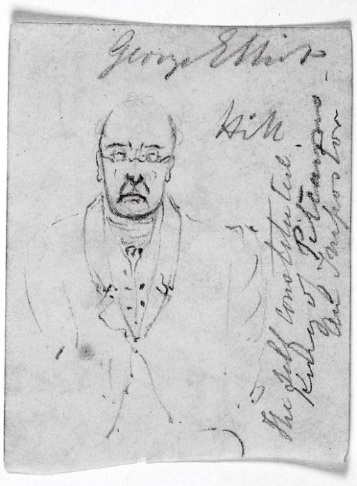 Авантюрист и самопровозглашённый лидер Питкэрна Джошуа Хилл. Рисунок одного из островитян / Источник: wikipedia.org