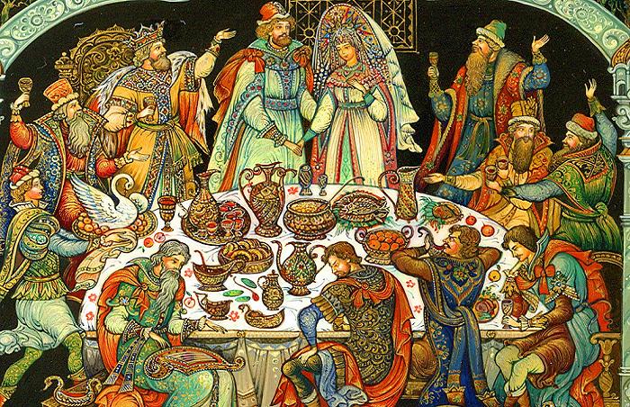 Княжеская свадьба на Руси / Фото: en.public-welfare.com