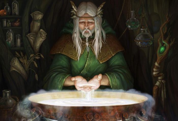 Древние друиды были врачевателями и предсказателями. / Фото:fb.ru