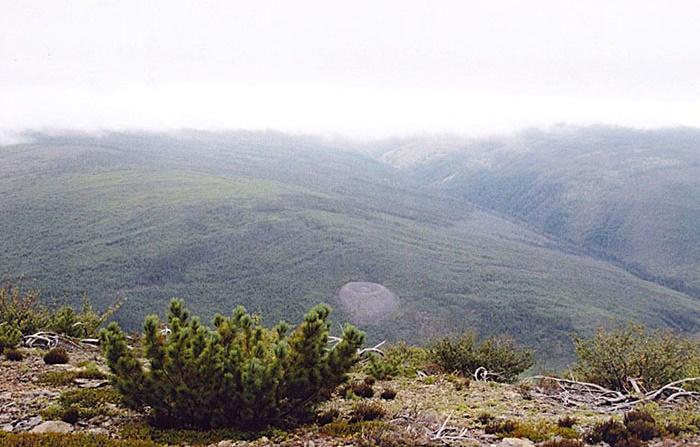 «Гнездо огненного орла» – Патомский кратер / Фото: travelila.com