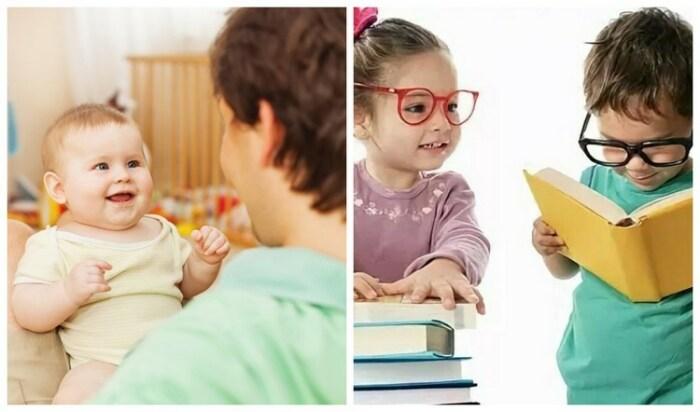 Развитие речи каждого ребенка индивидуально