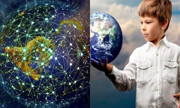 Общение планеты с обитателями происходит в ноосфере