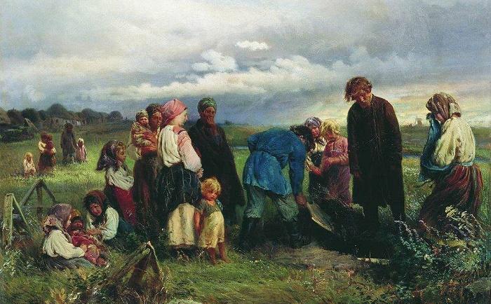 Похороны на Руси / Фото: alamy.com