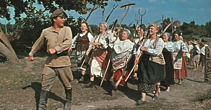 Кадры из кинофильма Свадьба в Малиновке /Фото: culture.ru