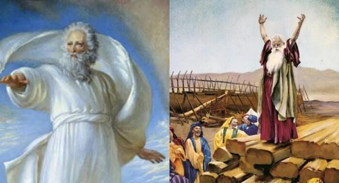 Господь выбрал Ноя для постройки ковчега и продолжения человеческого рода