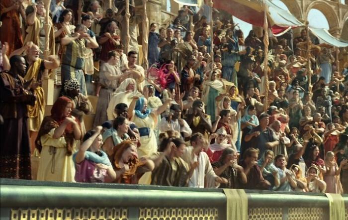 Древнеримские болельщики на трибунах ипподрома / Фото: bbc.com