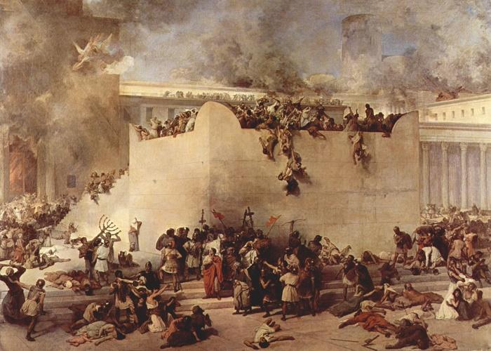 Взятие Иерусалима вавилонянами / Фото: ujew.com