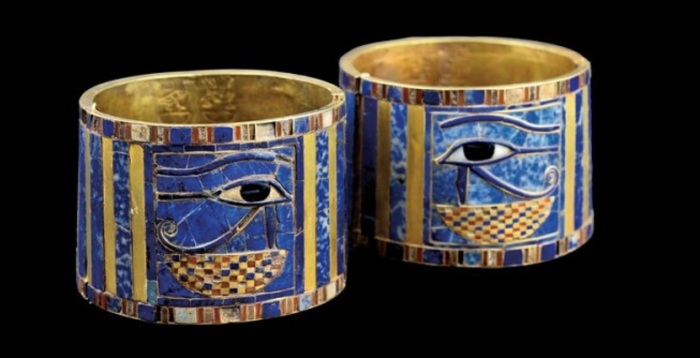 Браслет царицы Аххотеп. / Фото: pinimg.com