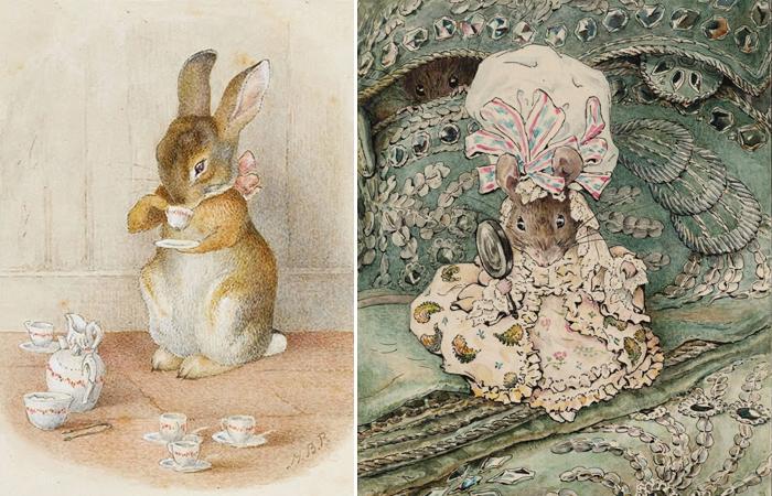 Удивительные рисунки Беатрикс Поттер остались в сердцах многих детей