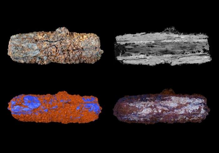 Металлические бусы внеземного египетского происхождения. / Фото: cosmos.mirtesen.ru