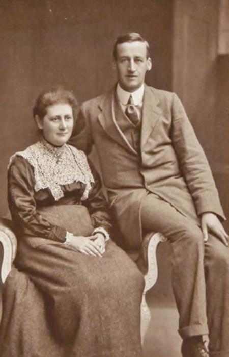 Беатрикс Поттер и ее муж Вильям Хилис. / Фото: pinterest.se