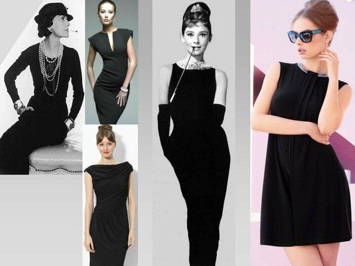 Маленькое черное платье Шанель. / Фото: alwaysbusymama.com