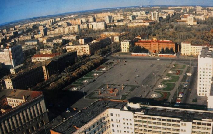 Хабаровск. Начало 1990-х годов / Фото: globaldomainsnews.com