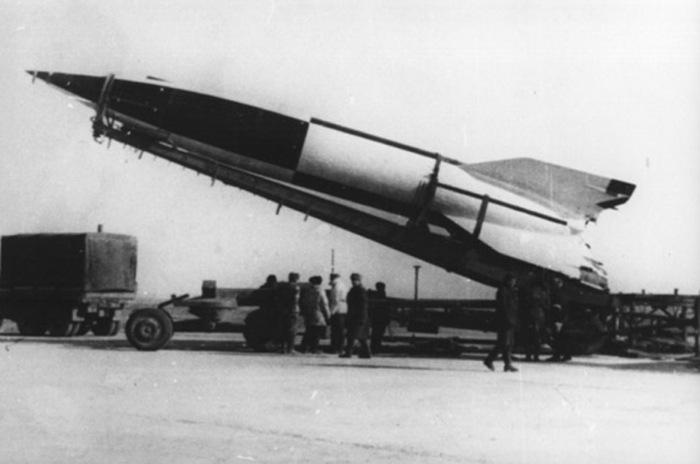 Египетская ракета Эль-Кахар, 1961 год / Источник: liveinternet.ru