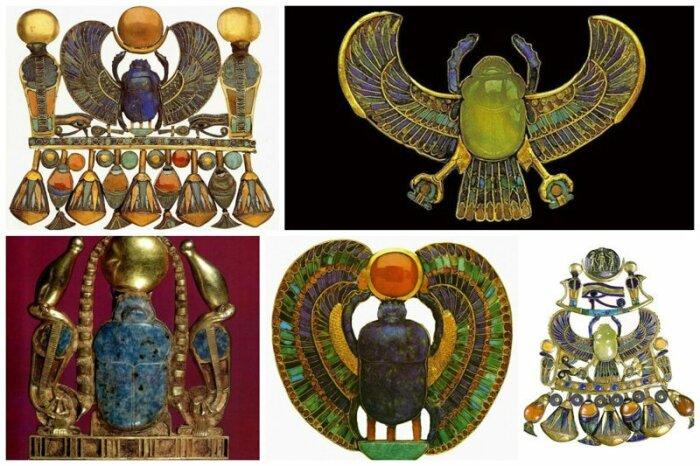 Техника и материал украшений Древнего Египта. / Фото:weaponhistory.com