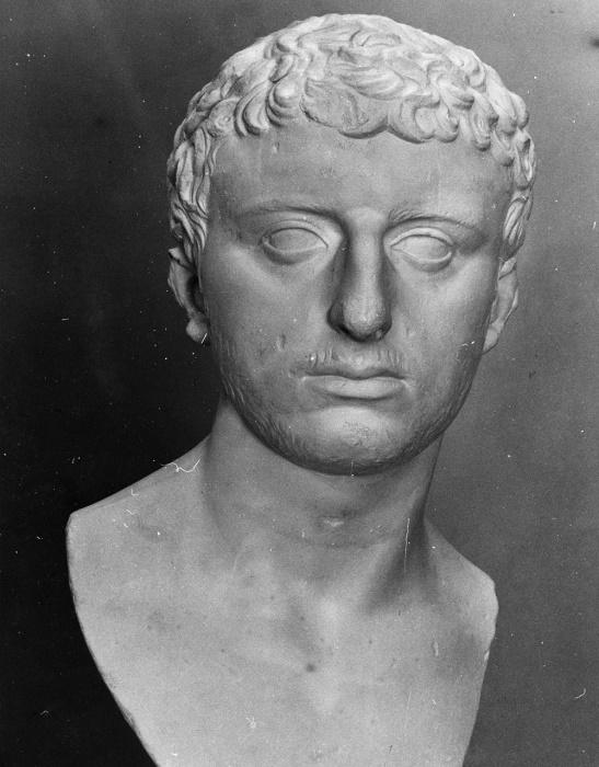 Иосиф Флавий. Бюст I века н. э. / Источник: pinterest.com