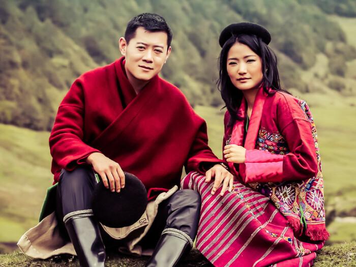 Ее Величество Джецун Пема и Его Величество Джигме Кхесар Намгьял Вангчук / Фото: infospesial.net