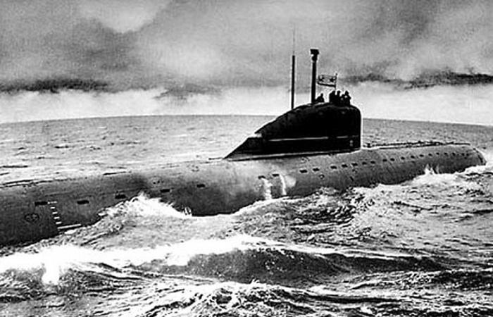 Советская субмарина проекта 627А «Кит» / Фото: spb.org.ru