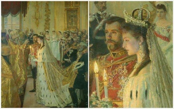 Венчание Алисы и Николая состоялось через неделю после похорон Александра III. / Фото:liveinternet.ru