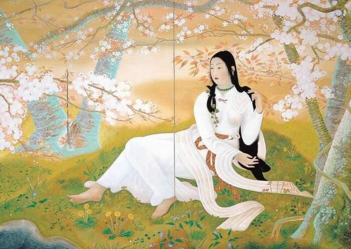 Бог Наниги выбрал в жены Цветущую Сакуру. / Фото:aminoapps.com