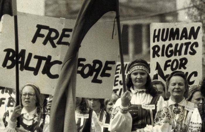 Националистические протесты в Прибалтике. 1989 год / Фото: thebalticway.eu