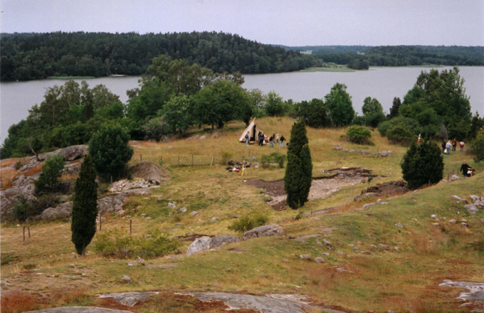 Раскопки города викингов. Бирка, Швеция / gabiblog.pl