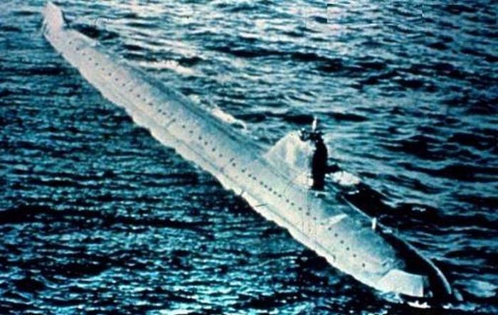 Подводная лодка К-27 в последнем боевом походе / Фото: extremetech.com