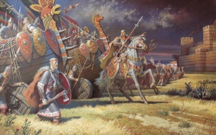 Военный поход викингов / Фото: historycollection.com