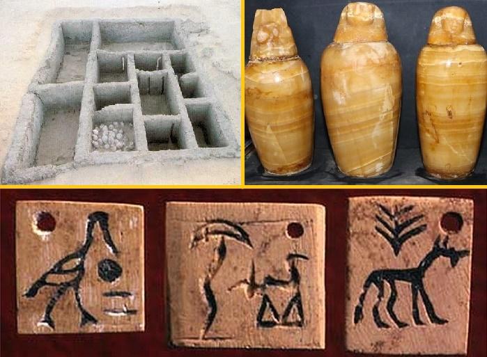 Все предметы в гробнице были подписаны /Источник: visitbolton.com