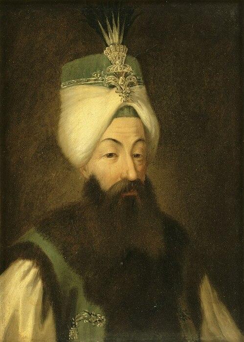 Султан Абдул-Хамид I, портрет неизвестного художника, 1789 год / Фото: wikiwand.com