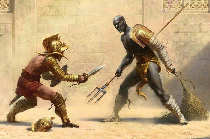 Вряд ли римляне считали тучное тело преимуществом в смертельной схватке / Источник: dw.com