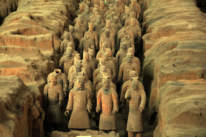 Интересные факты о терракотой армии Китая. / Фото: tourweek.ru