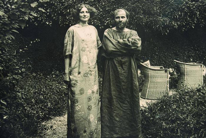 Густав Климт и Эмилия Флеге / Фото: http://izbrannoe.com
