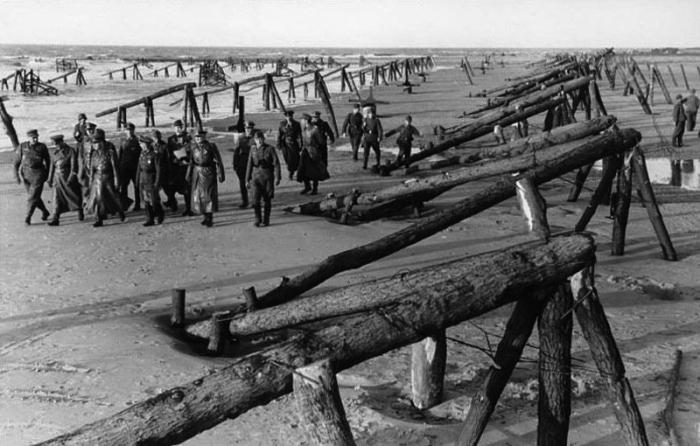 Директивой № 40 от 23 марта 1942 года Гитлер отдал приказ о начале работ по созданию Атлантического вала / Фото: mi3ch.livejournal.com