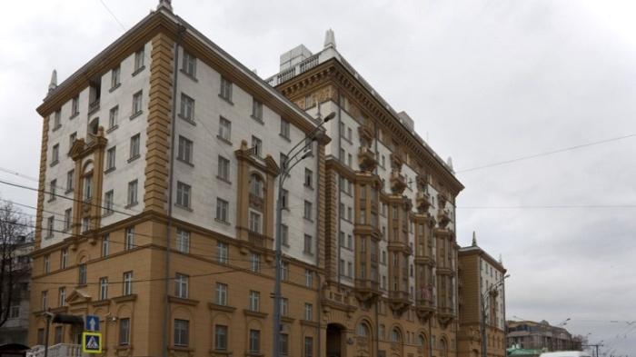 В этом здании на Новинском бульваре в конце 1970-х годов размещалось посольство США в СССР / Источник: versia.ru